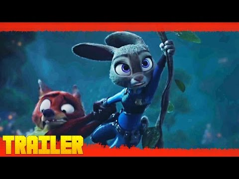 Zoótropolis - Disney (2016) Nuevo Tráiler Oficial #2 Español Latino