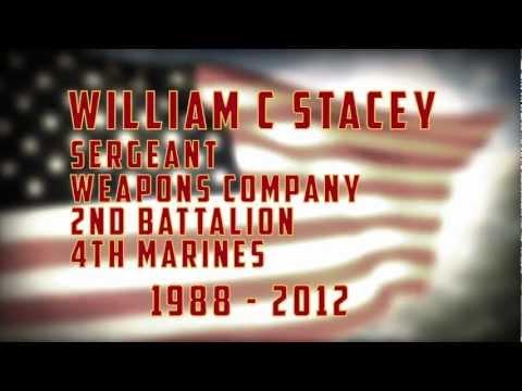 Sergeant William Stacey Tribute