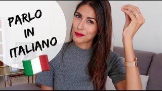 AMERICAN GIRL SPEAKS ITALIAN (Il mio primo video in Italiano- English subtitles)