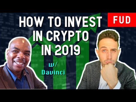Bitcoin Oracle DavinciJ15 on how to invest in crypto in 2019! GRIN BEAM Privacy Coins ADA TRX