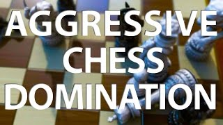 Learn How To Play AGGRESSIVELY And WIN More Games! - GM Damian Lemos (EMPIRE CHESS)