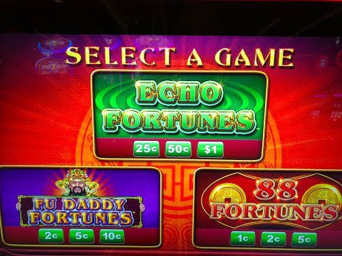 HIGH LIMIT ~ ECHO FORTUNES ~ (3) HANDPAYS $20 & $30 SPINS ONLY