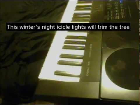 On this winter's night (lyrics) Lady Antebellum piano
