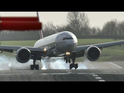 Turbulent Touchdowns -