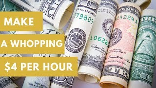How Much Will You Really Earn on Text Broker? In My Case... $4.20 Per Hour