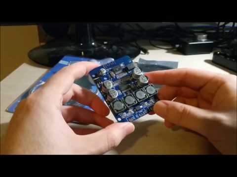 Mailbox #3: ICStation DIY Programmable LED Fan and TPA3118 2x30W Bluetooth Digital Power Amplifier