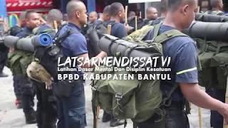 LATSARMENDISSAT VI || Latihan Dasar Mental Dan Disiplin Kesatuan BPBD Kabupaten Bantul Th 2019