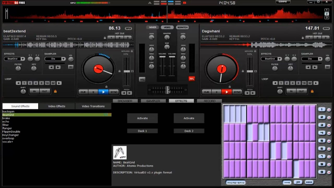 Virtual DJ Home Edition Tutorial
