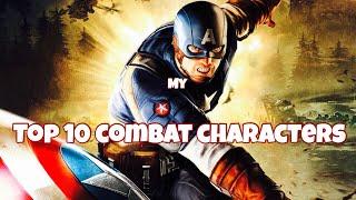 TOP TEN COMBAT CHARACTERS | Marvel Future Fight