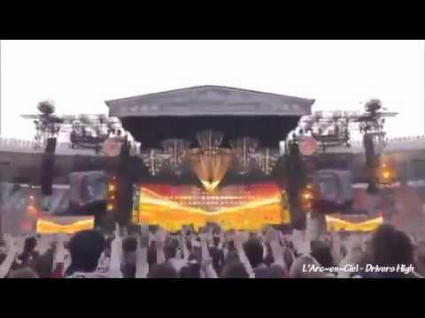 L'Arc~en~Ciel   Drivers High live   YouTube