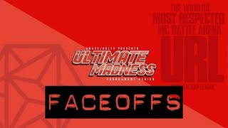 FACEOFF: NU JERZEY TWORK vs SWAMP and ULTIMATE MADNESS SEMIFINALS | URLTV