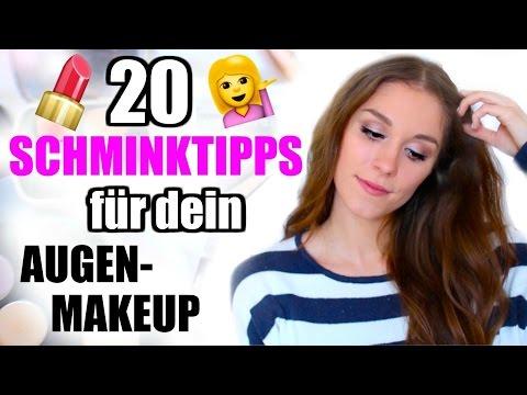 20 SCHMINKTIPPS für die AUGEN! Anleitung für ANFÄNGER und FORTGESCHRITTENE ♡ BarbieLovesLipsticks