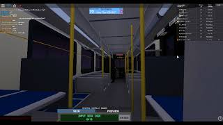 Roblox: Driving Saint Catharines Transit 2003 New Flyer D40LF on route 416