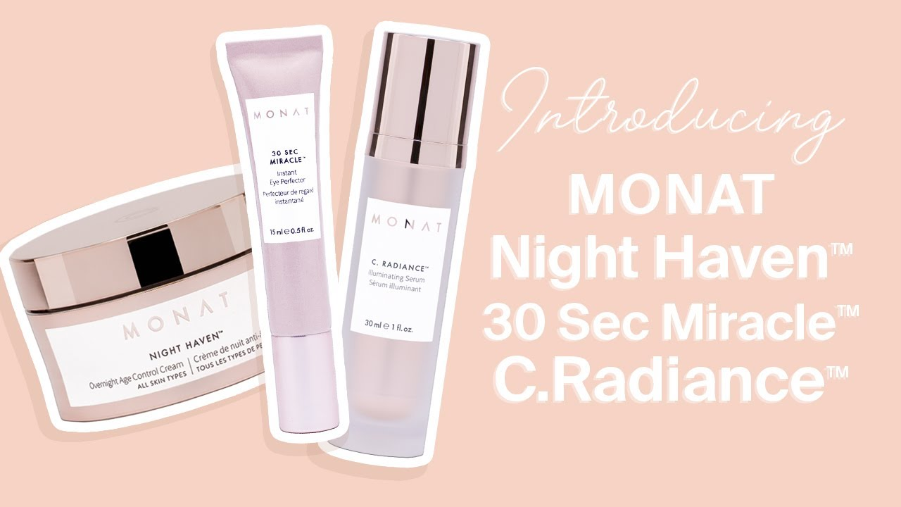 Monat Skincare Night Haven 30 Second Miracle C Radiance