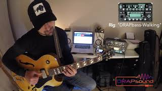 "Commercial Rig: ""DRAPbass-Walking"" for Kemper Profiler"