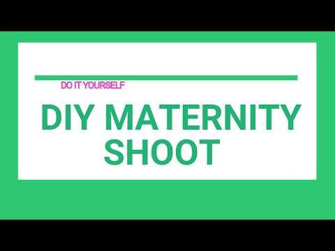 DIY MATERNITY SHOOT  Boy or Girl ?  DO IT YOURSELF  