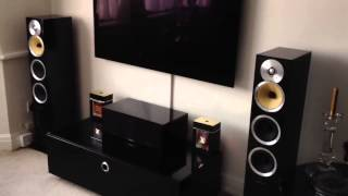 justin timber lake on bowers and wilkins cm8 speakers