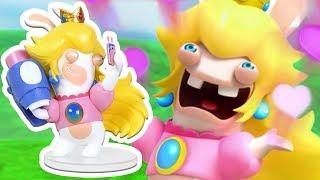 Открывашка: фигурка Кролик-Пич (15 см) Mario + Rabbids: Битва за Королевство