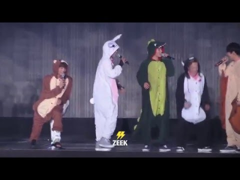 160320 The EXO'luXion Talk Zoo costume, Dance aegyo, talk to <a href=