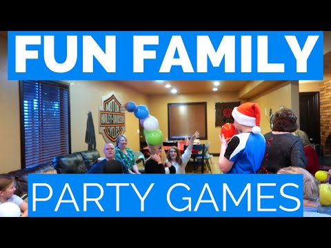 FAMILY PARTY IDEAS | NEW YEARS EVE PARTY GAMES | MINUTE TO WIN IT INSPIRED GAMES