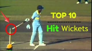 "Top 10 ""Hit Wickets"" In Cricket History (Updated 2016)"