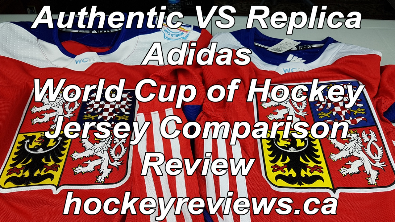 f17ce6127 Adidas World Cup of Hockey Authentic vs Replica Jersey Comparison Review  WCH NHL