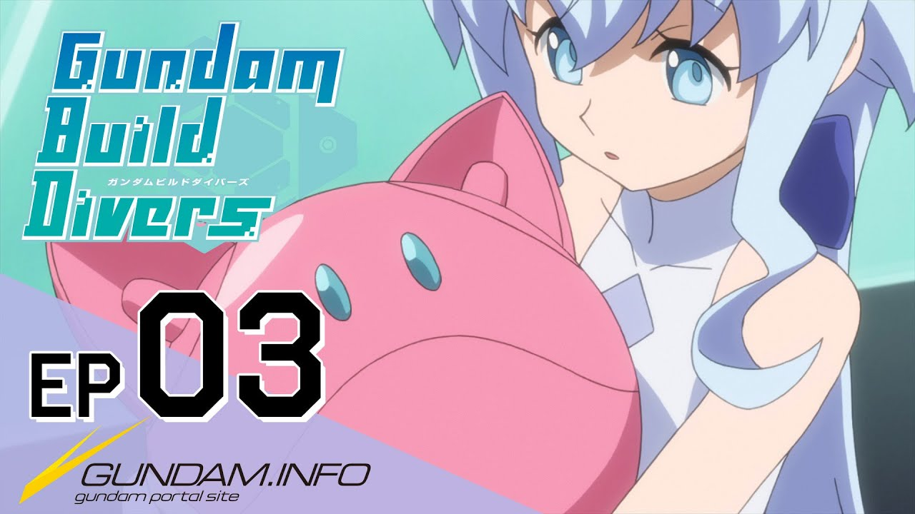 Gundam Build Divers-Episode 3: The Protector (EN dub)