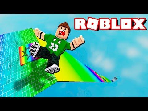 ¡¡ CAIDA INFINITA de 99,999,999 METROS en ROBLOX !!