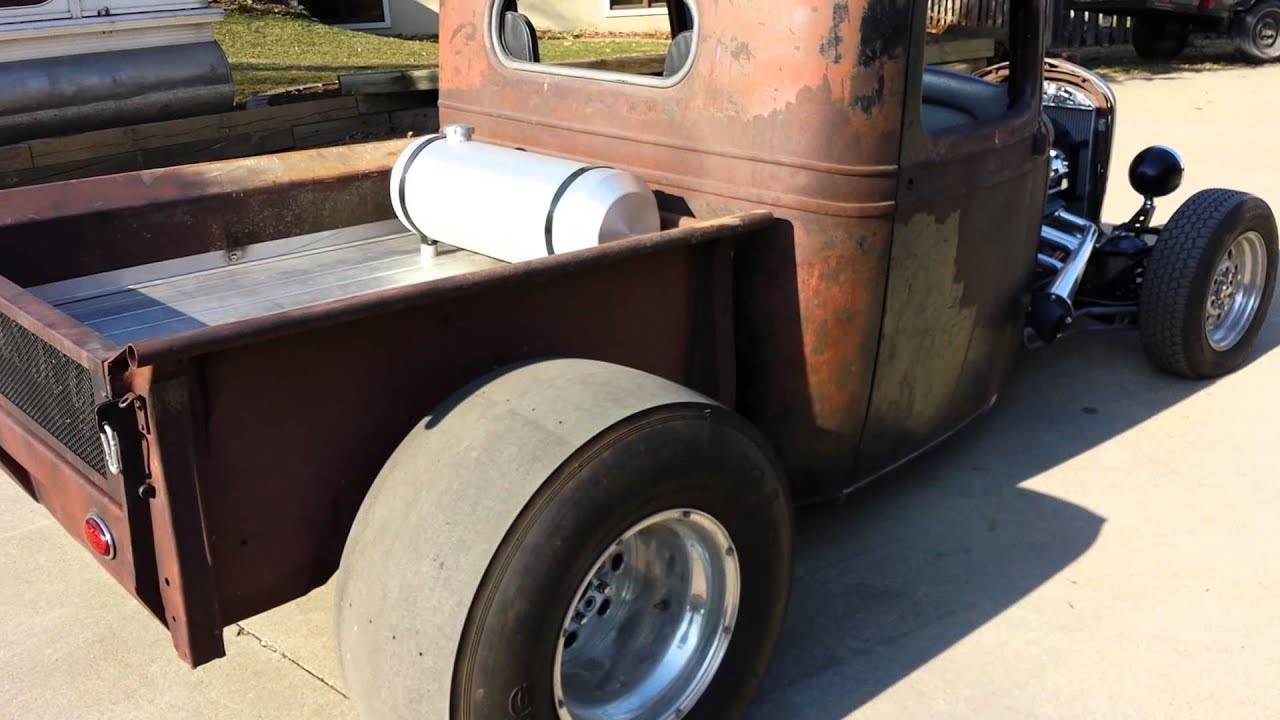 1936 chevy truck hot rod rat rod youtube. Black Bedroom Furniture Sets. Home Design Ideas