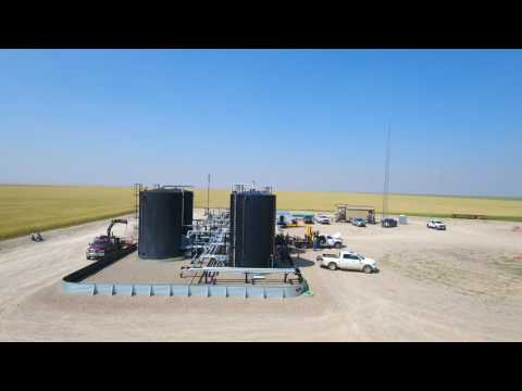 Alberta Oilfield Site - Aeriel Inspection Demo