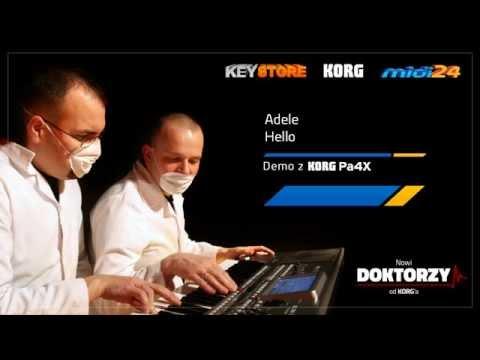 Music Soft for KORG - Adele  - Hello - Midi24.pl