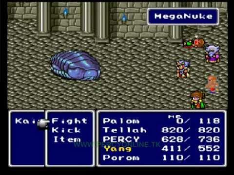 Final Fantasy V Game Genie Codes (USA)