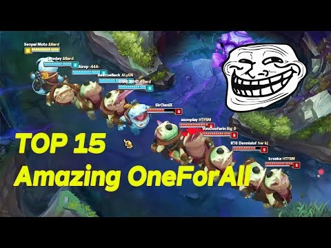 "TOP 15 ""Amazing ONE FOR ALL -"" Unbelievable Moments 😱😱"