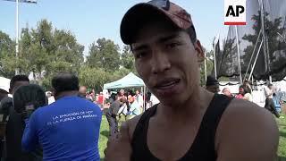 Migrants in caravan shrug over US vote