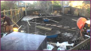 Almond Landscaping - Time Lapse Garden Makeover