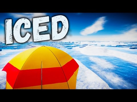 RAFT MEETS THE LONG DARK! ICED, a Hardcore Survival Simulator on an Ice Sheet - Iced Gameplay Part 1
