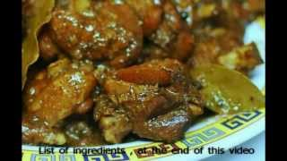 Braised Chicken With Garlic & Soy Sauce: Oriental Cooking.