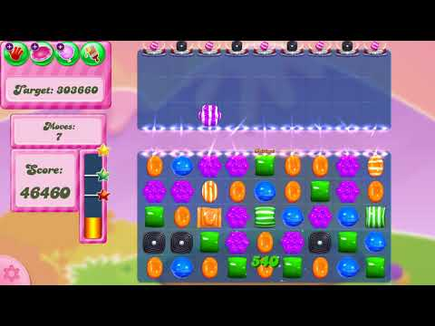 Candy Crush Saga Level 2885 NO BOOSTERS