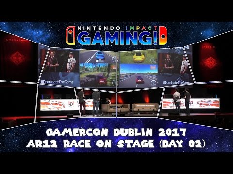 GamerCon Dublin 2017 - AR12 Race On Stage (Day 02)