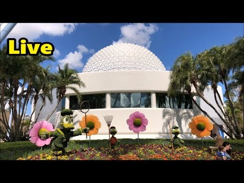Epcot Live Stream - 4-20-18 - Walt Disney World
