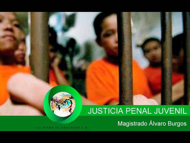 Ley de Justicia Penal Juvenil. Con el Magistrado Alvaro Burgos y la periodista Helen Solano