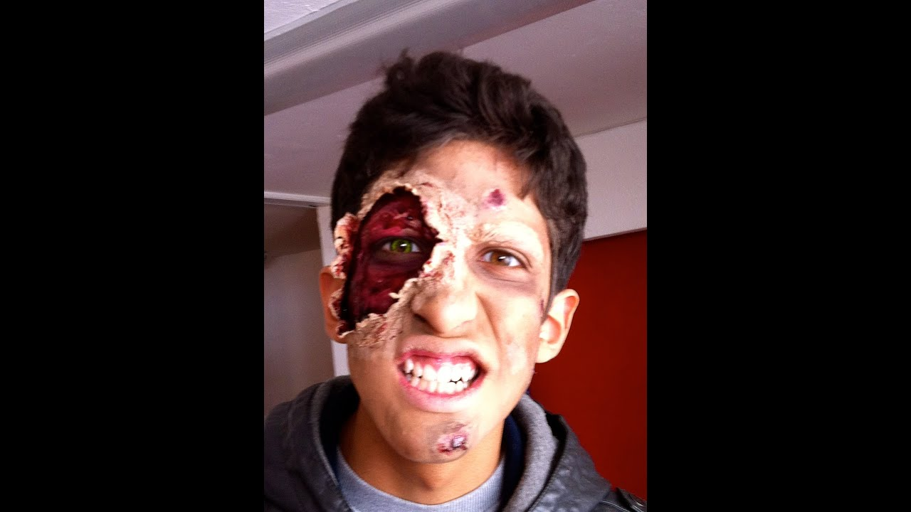 fotos de maquillaje zombie
