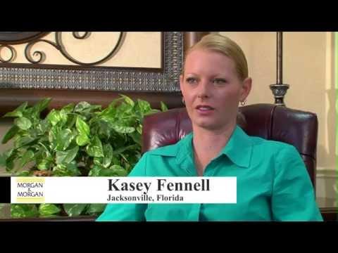 Morgan & Morgan Personal Injury Testimonial - Kasey Fennell