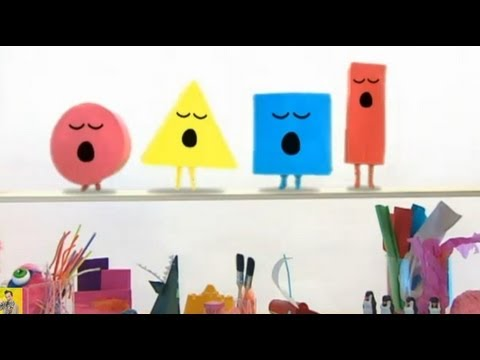 Mister Maker | The Shapes Dance | How Many Shapes?