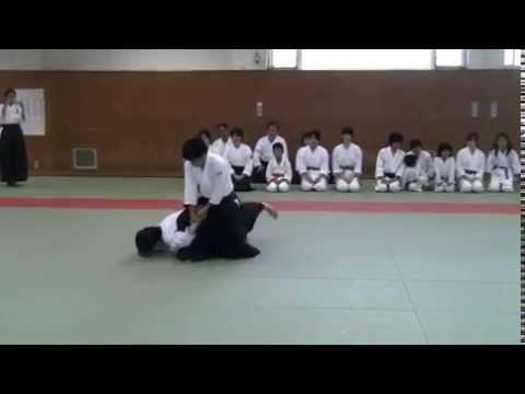 Aikido Demo. by Ikuhiro Kubota shihan 窪田師範演武 Oct.25, 2014