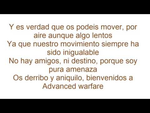 Advanced warfare vs titanfall vs destiny (LETRA)