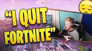 TFUE QUITS FORTNITE FOR REALM ROYALE *STREAMER REACTION* Fortnite Epic and Funny Moments