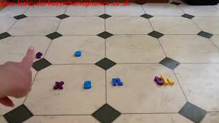 Letters and Sounds Phase 4: Kitchen Floor Phoneme Frame Part 1