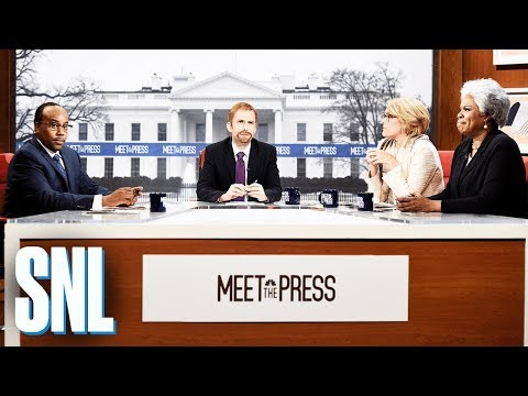 Meet The Press Cold Open - SNL