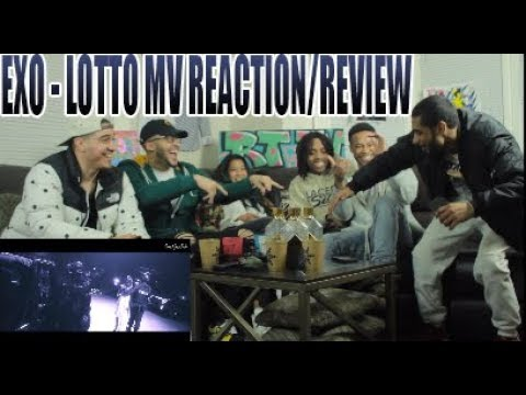 FIRST EXO 엑소 - LOTTO  MUSIC VIDEO REACTION/REVIEW
